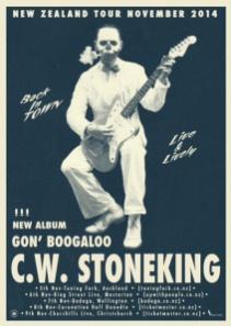 CW Stoneking Poster