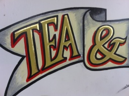 Tea & Happiness close up